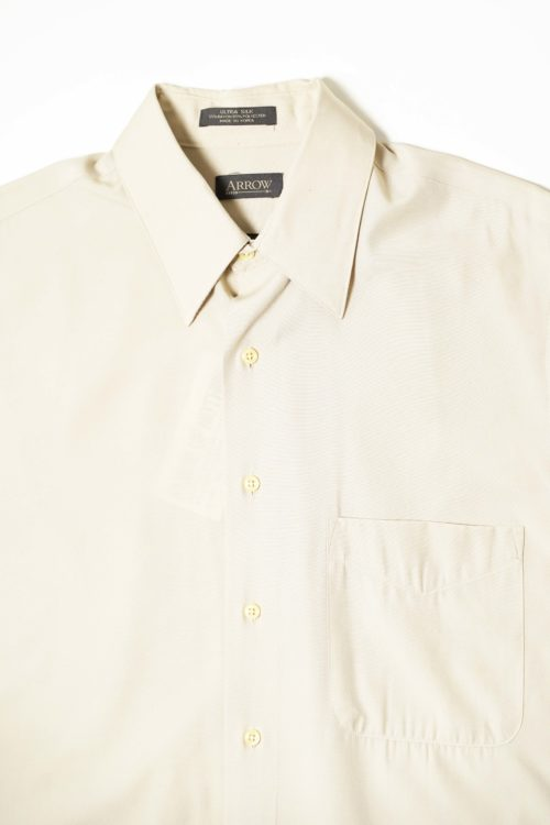 RAYON L/S SHIRT LIGHT BEIGE