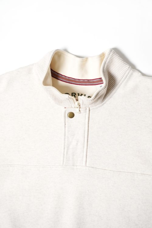 DEADSTOCK ORVIS HALF ZIP SWEAT