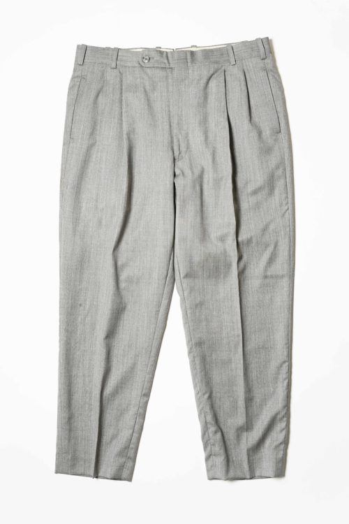 REMAKE SLACKS PANTS GRAY COLOR
