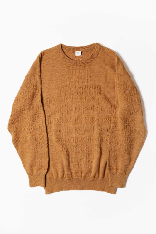 GERMAN MADE BROWN DESIGN KNIT