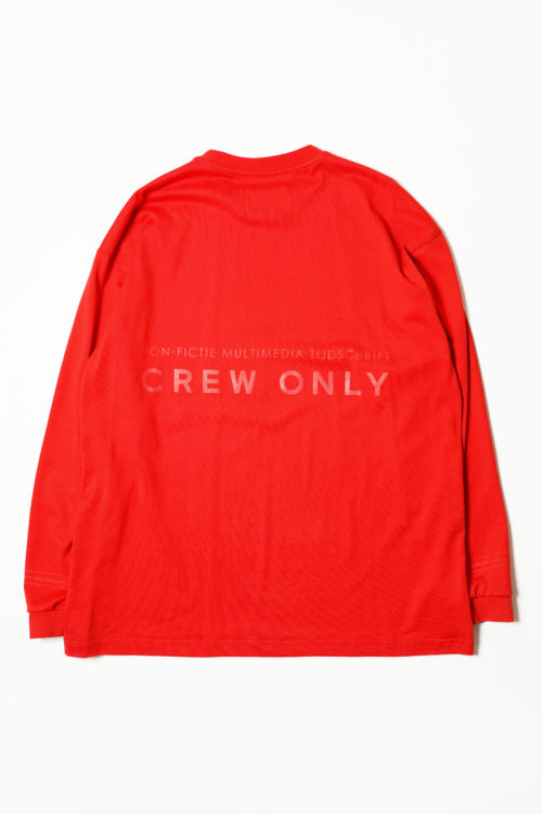 "GEWEVEN"" L/S TEE SHIRTS(copy)"