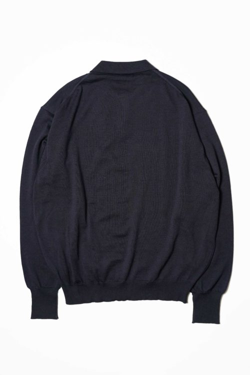 KNIT POLO NAVY
