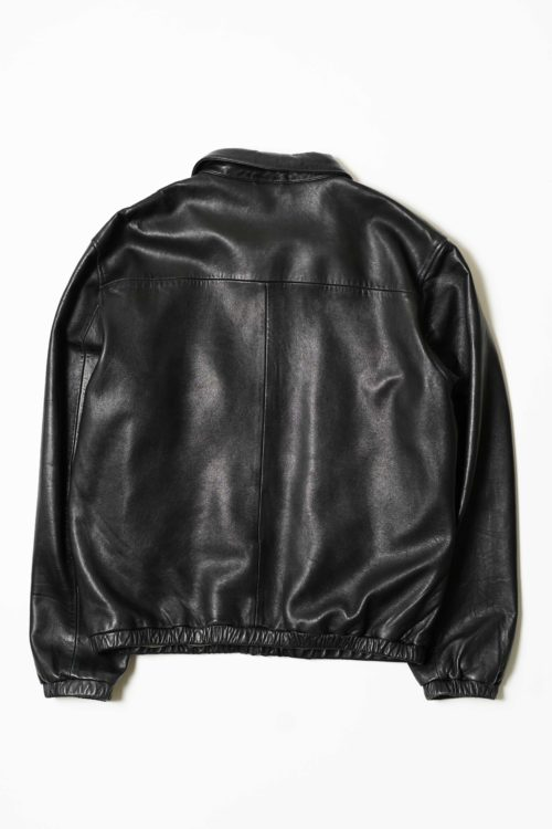 POLO BY RALPH LAUREN LEATHER BLOUSON JACKET