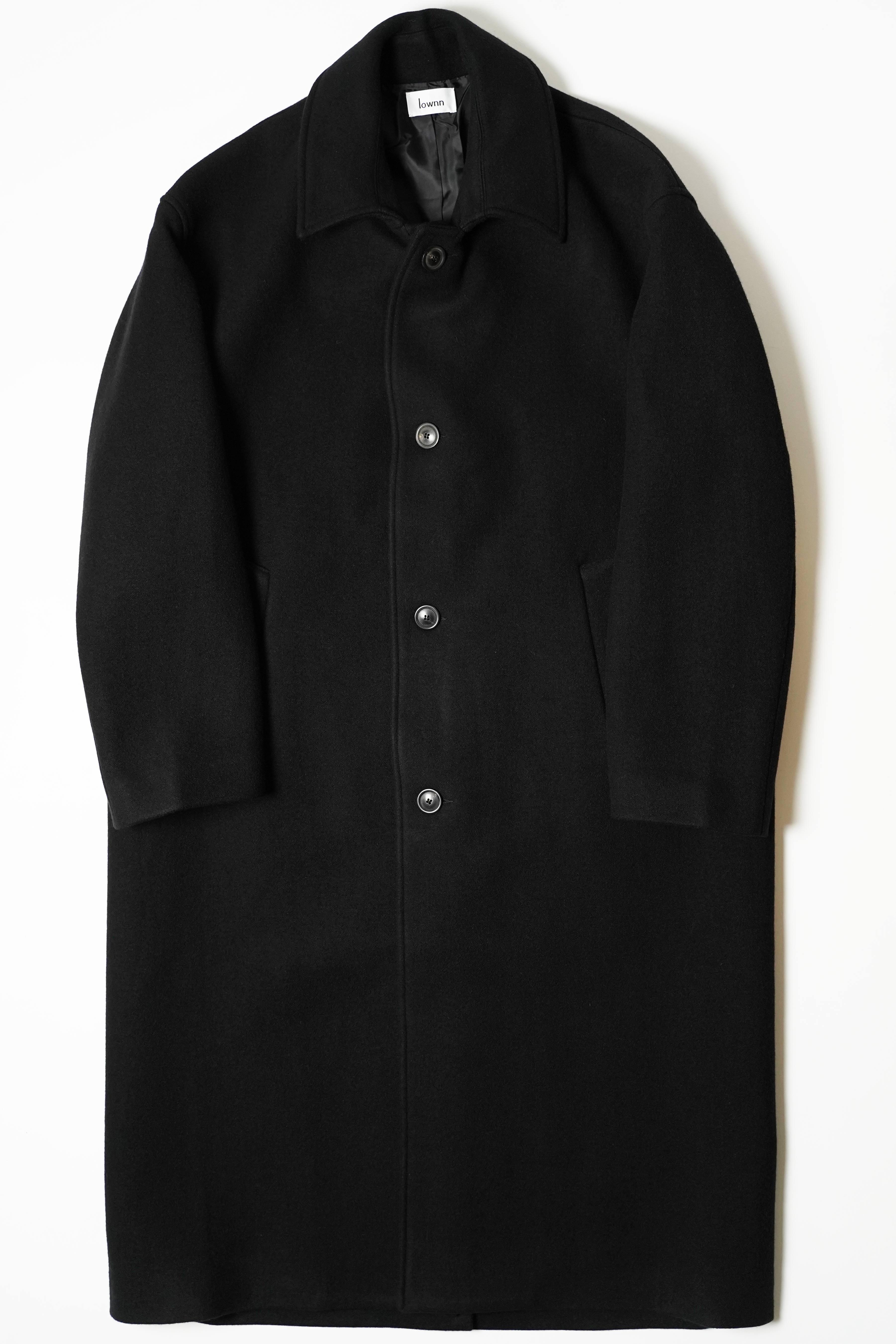 OVER COAT BLACK