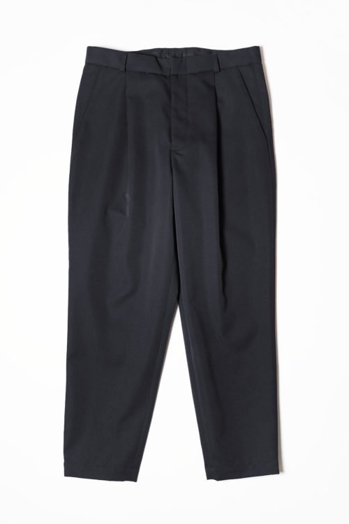 GABARDINE WOOL  DAILY 1 TUCK  SLACKS