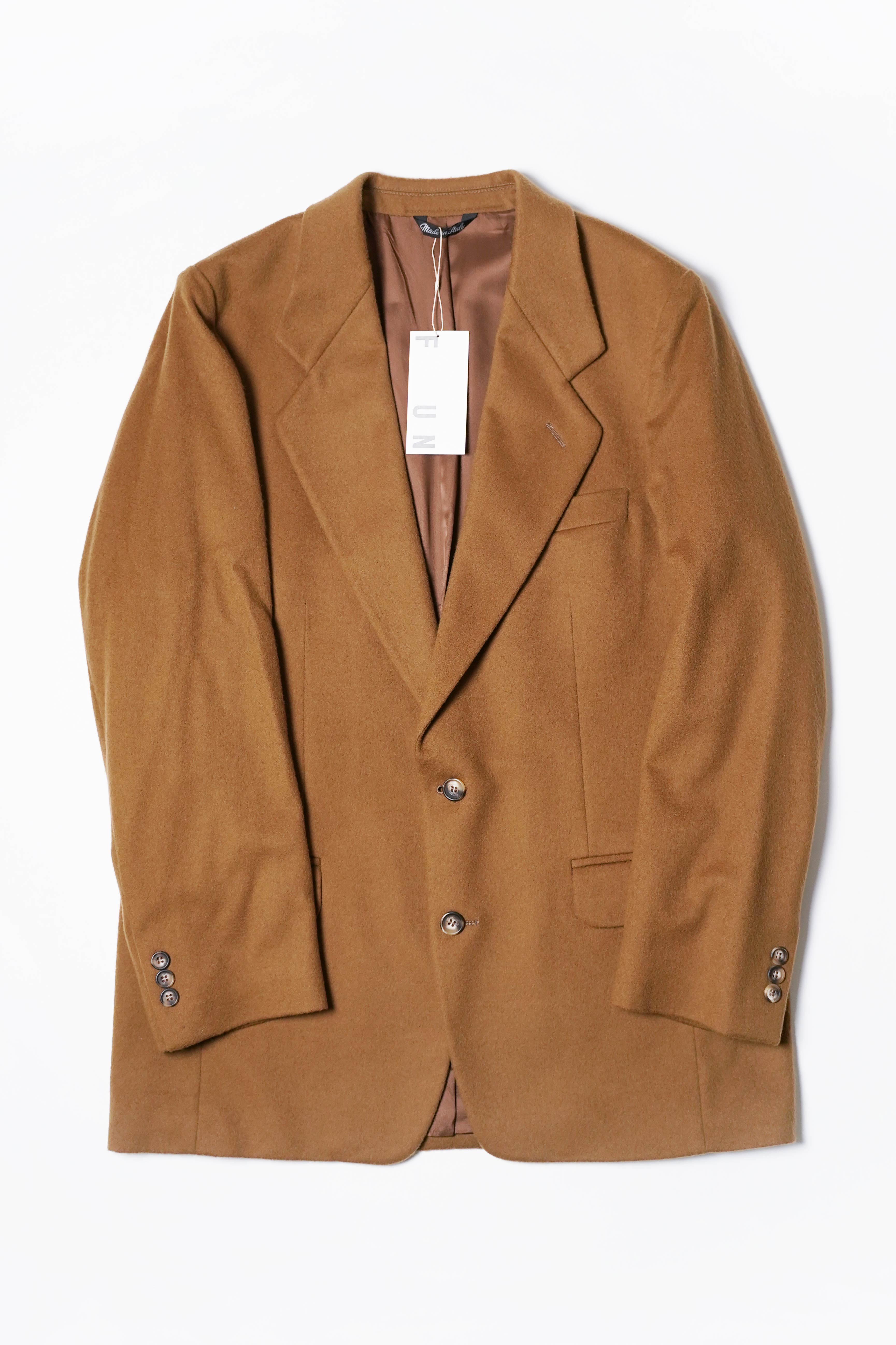 90'S CASHMERE AND WOOL JACKET