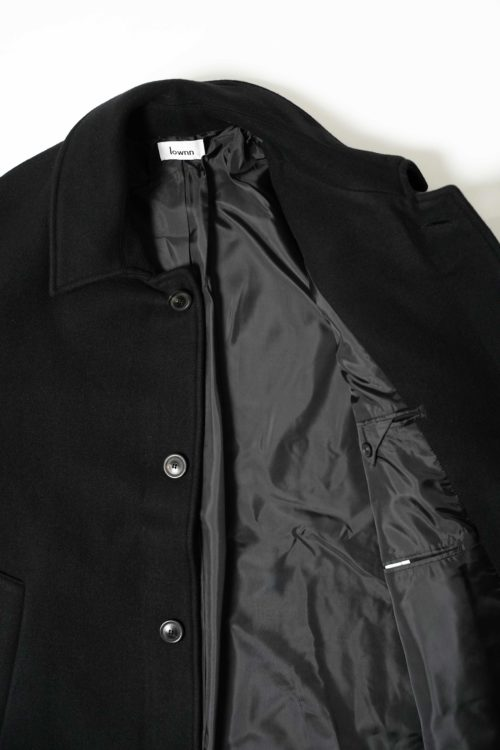 OVER COAT BLACK