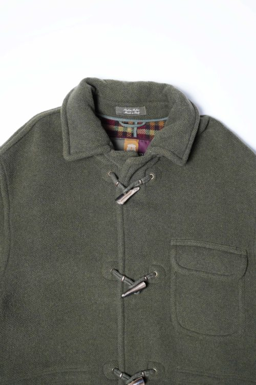 WOOL DUFFLE COAT MADE IN ITALY