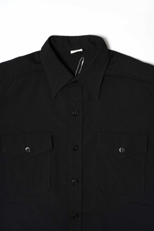 BLACK MILITALY SHIRTS