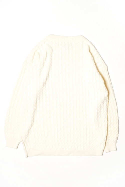 IVORY CABLE KNIT