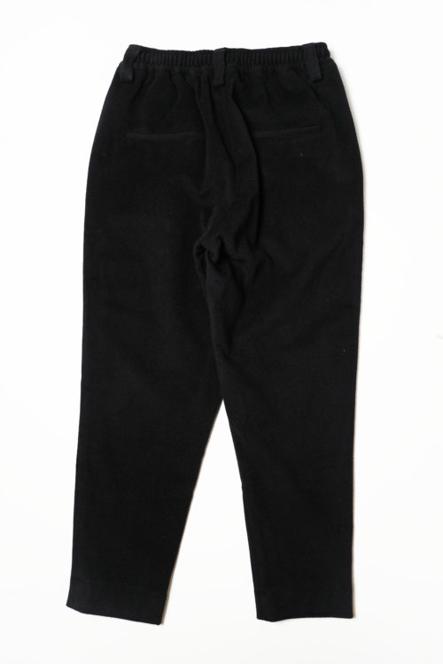 PLEATED CASHMERE WOOL TROUSERS