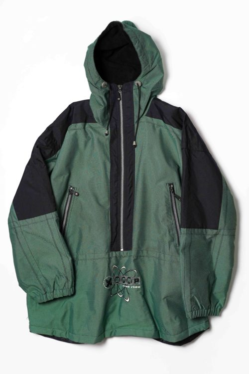 GERMANY DESIGN ANORAK JACKET GREEN
