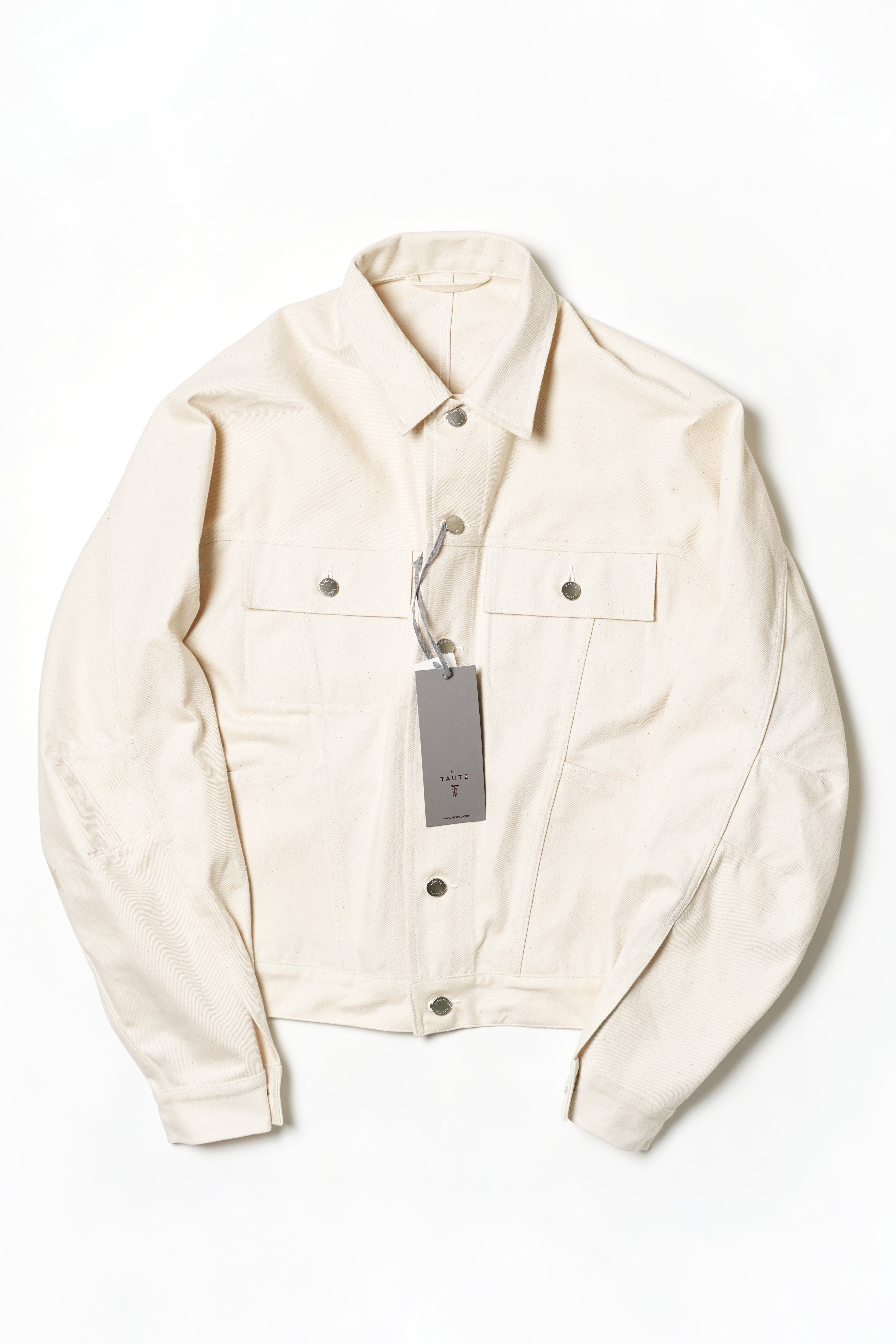 IVORY DESIGN DENIM JACKET
