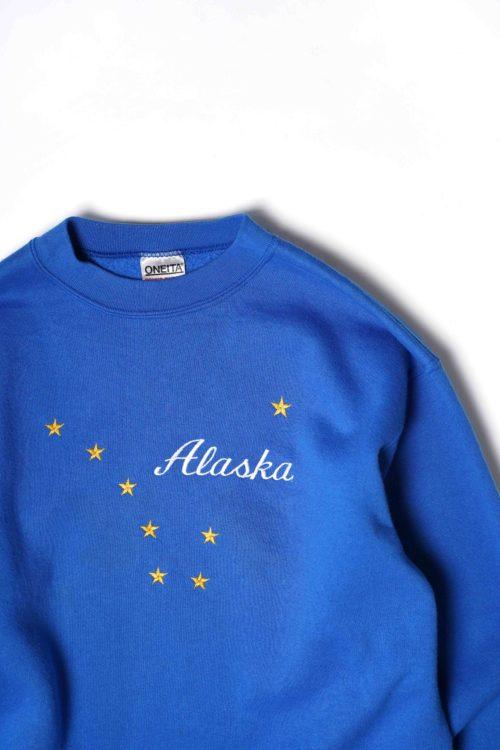 ALASKA LOGO SWEAT