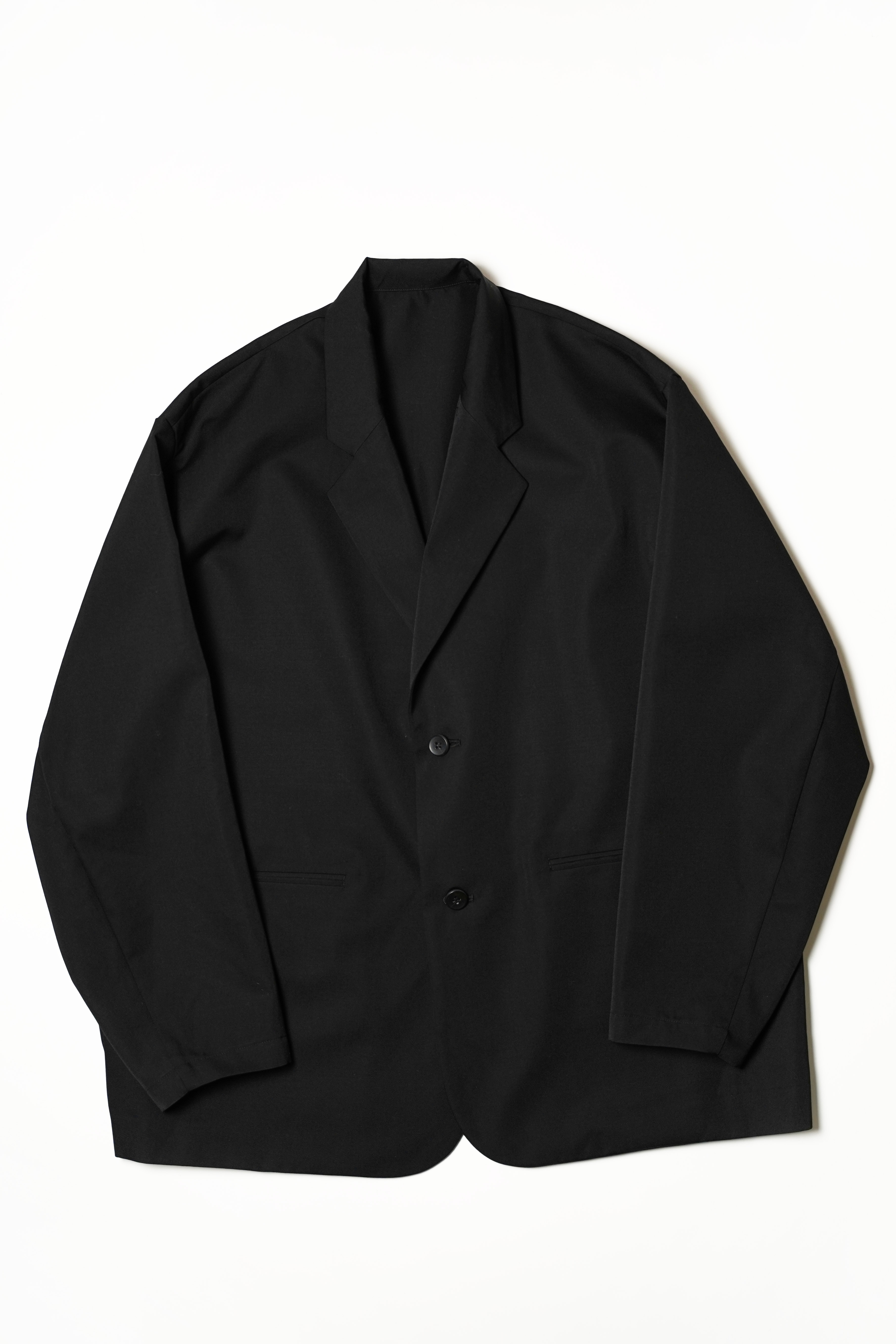 GABARDINE WOOL TAILORED JACKET