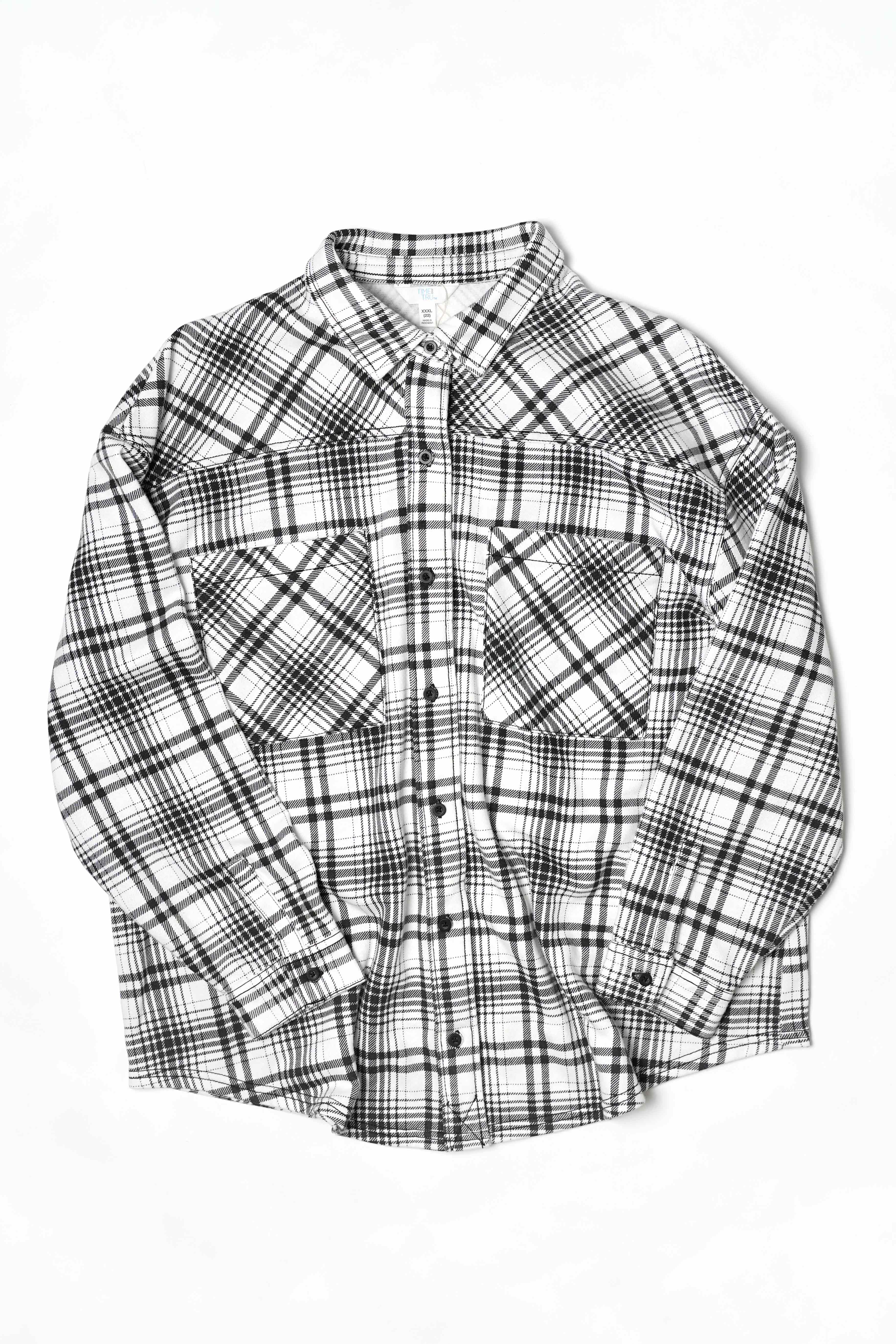 COTTON OVER CHECK SHIRTS