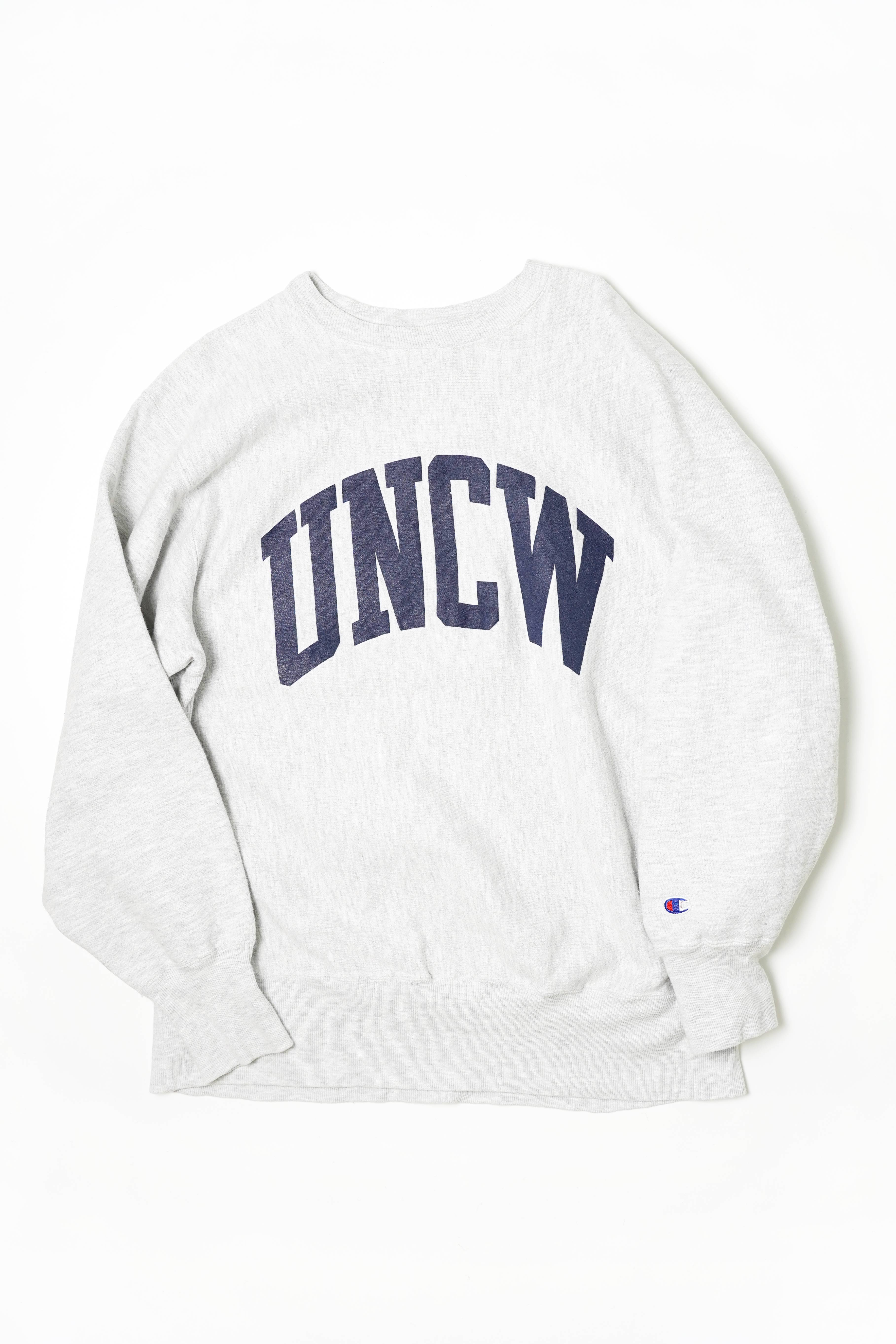"CHAMPION REVERSE WEAVE PRINTED ""UNCW"""