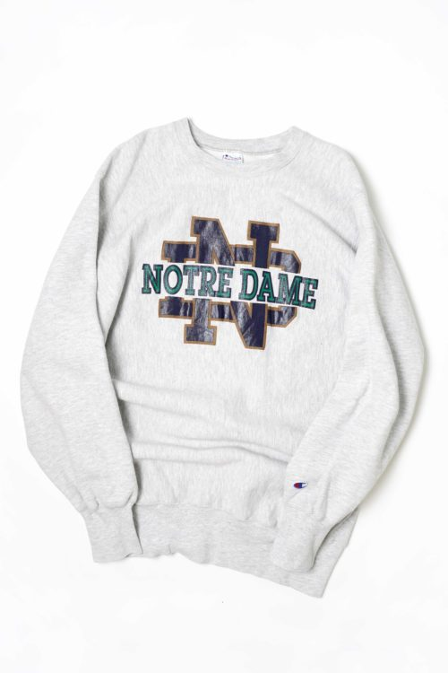 """CHAMPION REVERSE WEAVE PRINTED """"NOTRE DAME"""""""