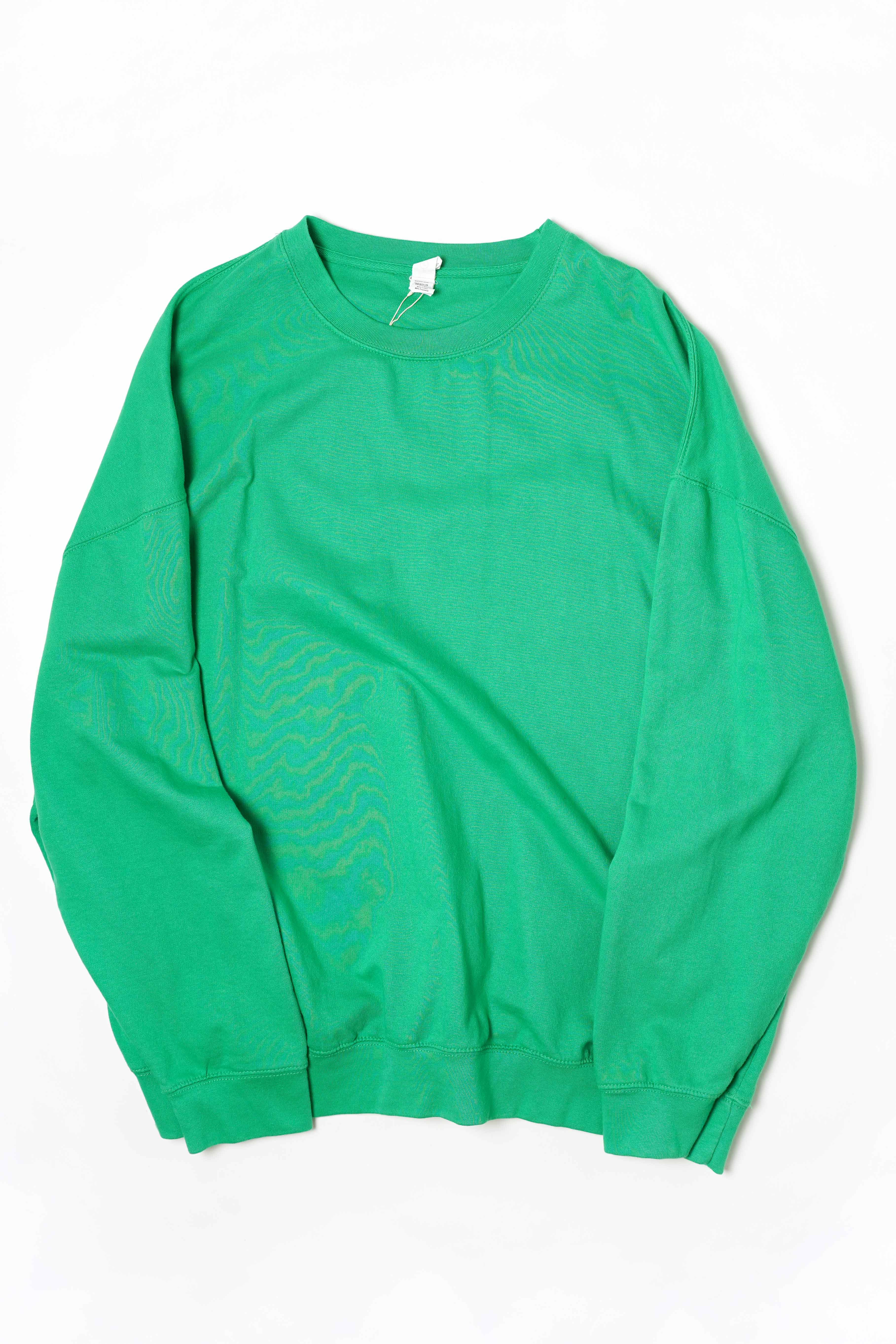 OVER SIZED SWEAT DEAD STOCK GREEN COLOR