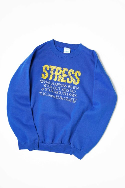 OLD PRINTED SWEAT Made in USA