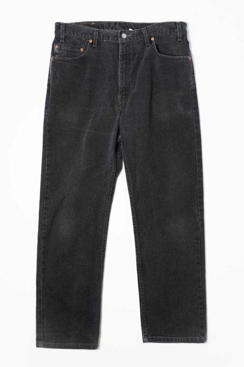 LEVI'S 505 W36 L30 BLACK DENIM PANTS