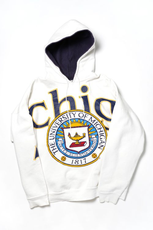 VINTAGE MICHIGAN OVER PRINTED HOODIE