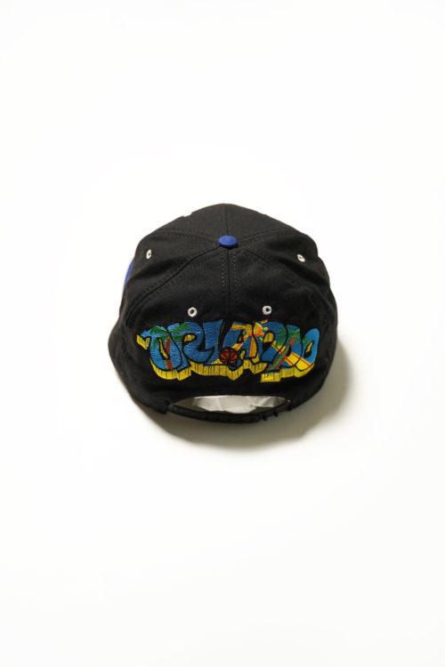 VINTAGE SNAP BACK  CAP BLUE / BLACK