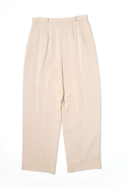 BEIGE SLACKS PANTS