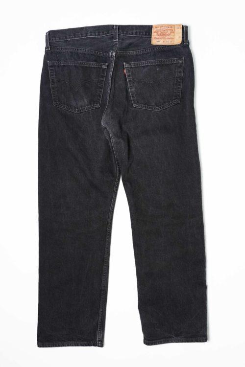 LEVI'S 501 W38 L30 BLACK DENIM PANTS