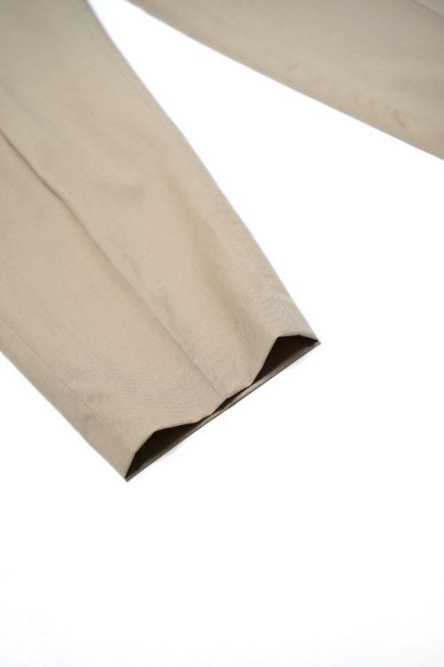 WOOL REMAKE SLACKS PANTS BEIGE