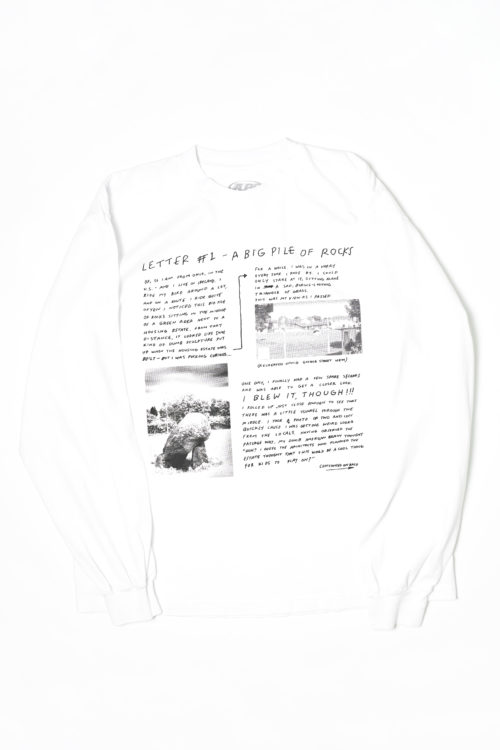 EXCLUSIVE THE LETTER LONG SLEEVE TEE