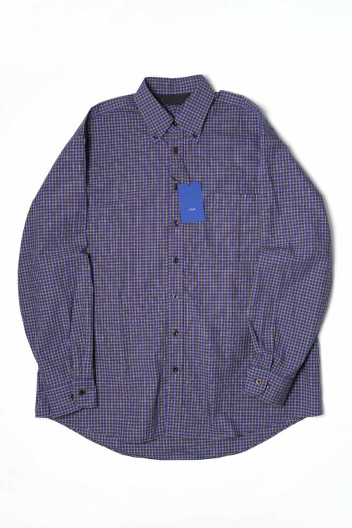 BD BIG SHIRT BLUE CHECK
