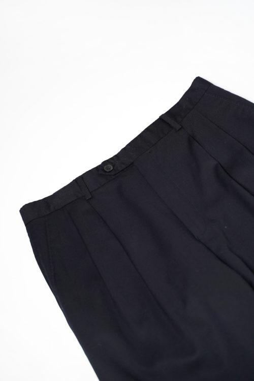 RALPH LAUREN WOOL REMAKE SLACKS PANTS NAVY
