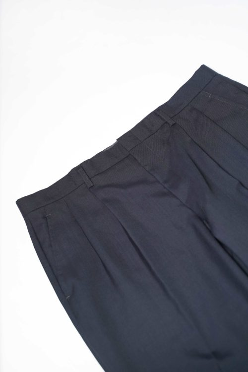 REMAKE SLACKS PANTS BLUE GRAY