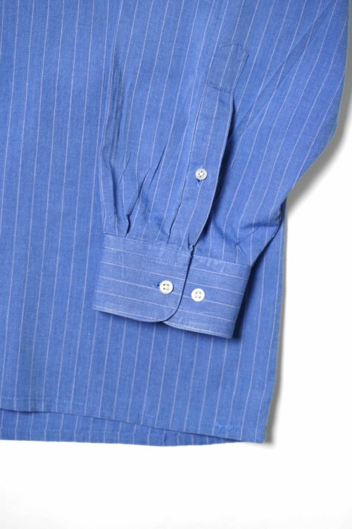 PIERRE CARDIN BLUE STRIPE DESIGN SHIRTS