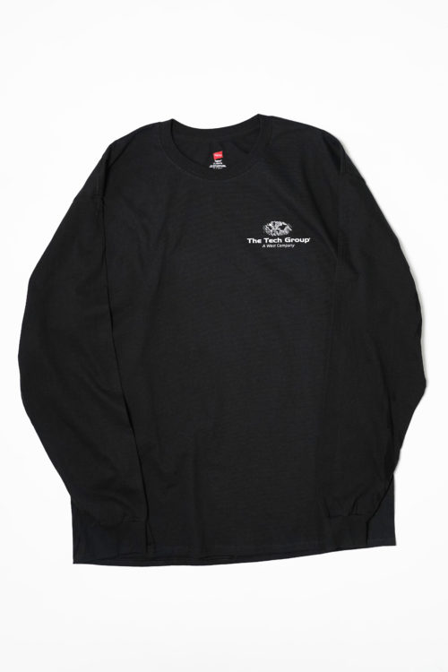 THE TECH PRINTED GROUP L/S TEE