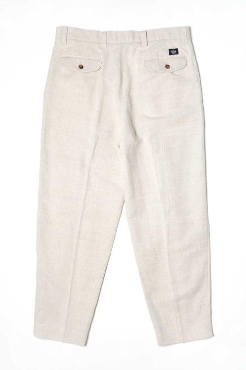 LINEN COTTON REMAKE SLACKS PANTS