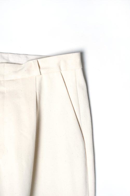 ORIGINAL 生成り COLOR DENIM SLACKS