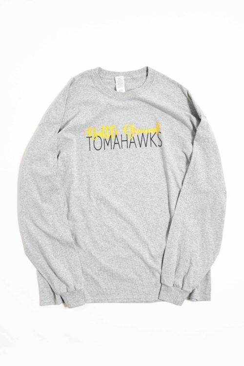 DEADSTOCK TOMAHAWKS PRINTED L/S TEE