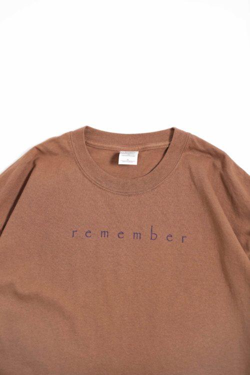 REMEMBER PRINTED S/S TEE