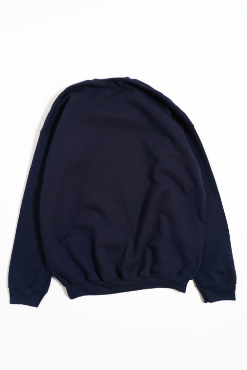 DEADSTOCK EMBROIDERY SWEAT NAVY