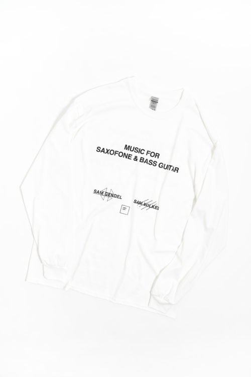 SAM GENDEL & SAM WILKES / MUSIC FOR SAXOFONE & BASS GUITAR LONG SLEEVE T SHIRTS