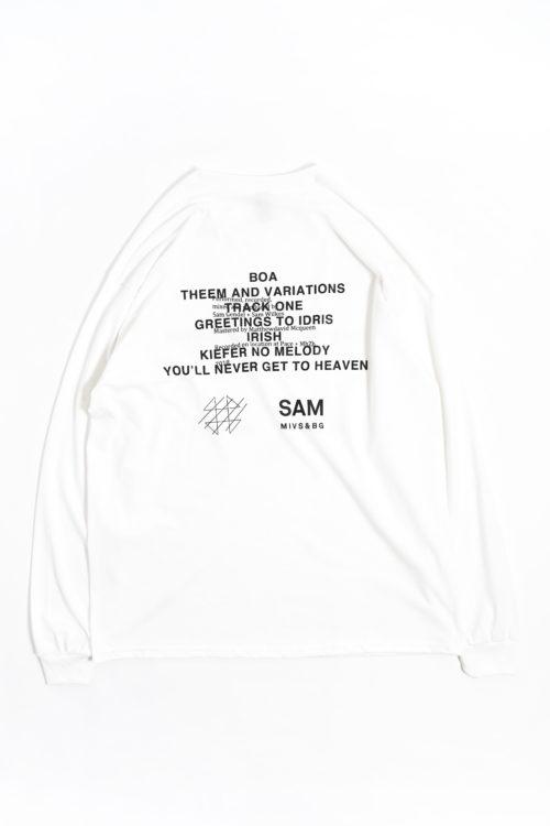 SAM GENDEL & SAM WILKES / MUSIC FOR SAXOFONE & BASS GUITAR LONG SLEEVE T SHIRTS