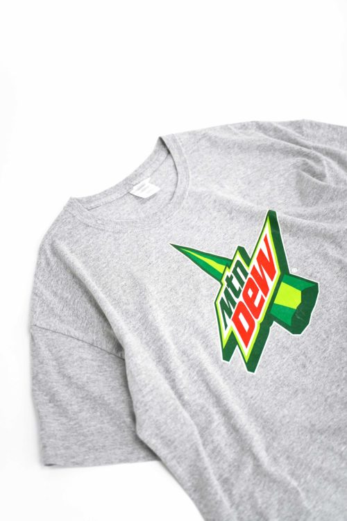 DESIGN PRINTED TEE Mtn Dew