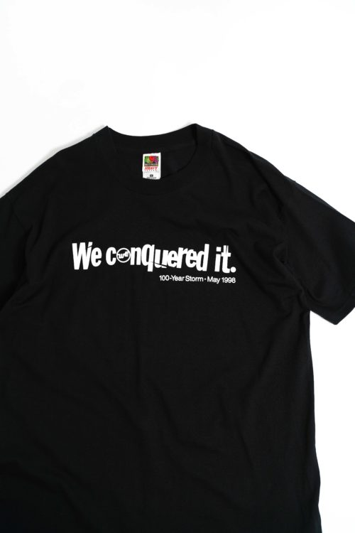 WE CANQUERED IT PRINTED TEE