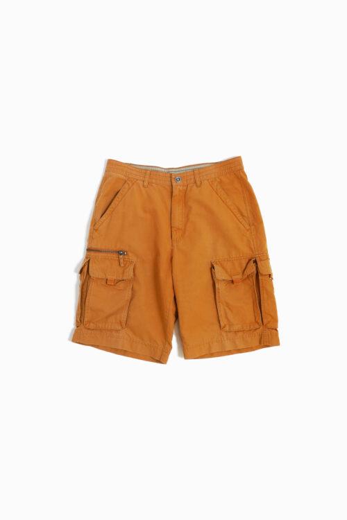 COLUMBIA ORANGE UTILITY DETAIL SHORT PANTS