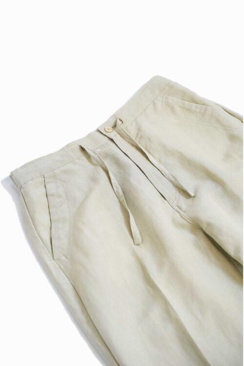 REMAKE LINEN RAYON PANTS