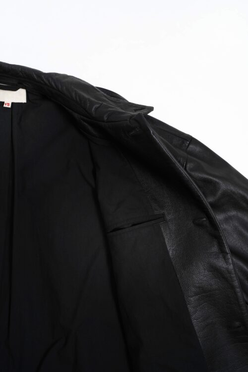 LEATHER OVER BLOUSON