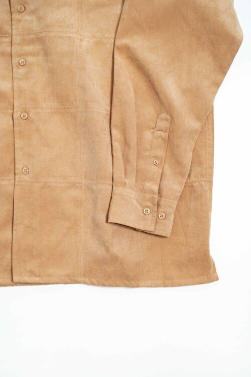 BROWN SUEDE DESIGN SHIRTS
