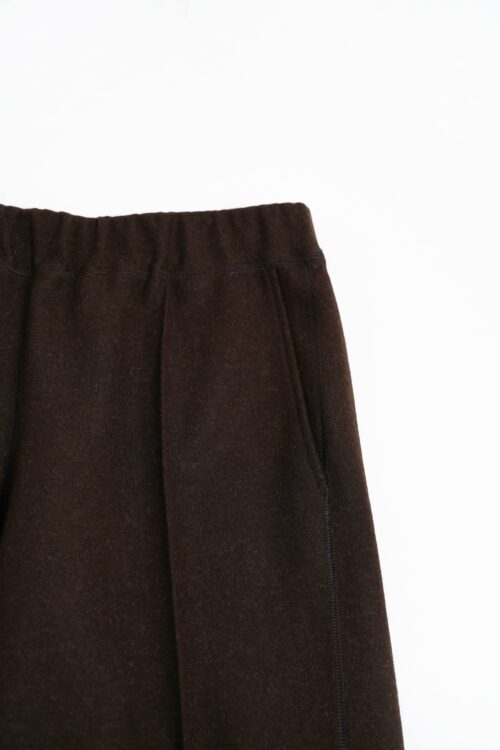 NATURAL WOOL FELT PANTS